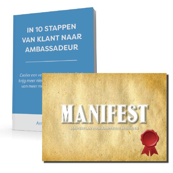 Boek + Manifest Combideal